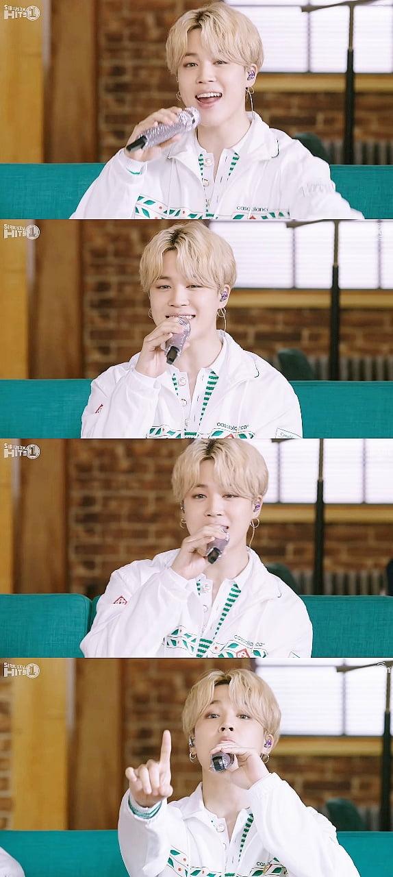 방탄소년단 지민, 미국 라디오 무대를 장악한 명품 보이스…팬심 저격❤