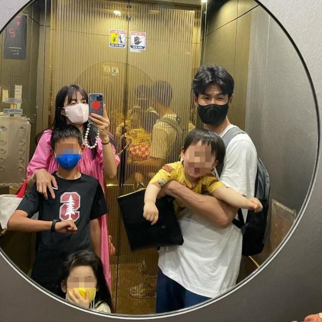 김성은 정조국 가족/ 사진=인스타그램