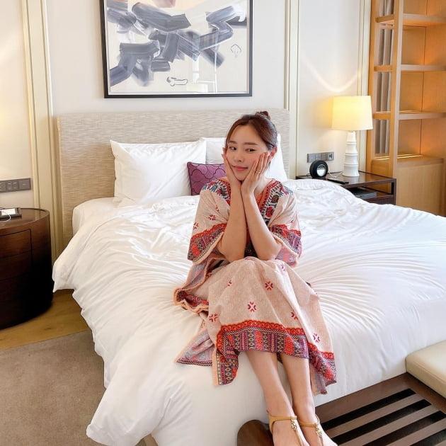 """'박성광♥' 이솔이, 월요일 아침은 침대에서 느지막하게 """"사부작"""" [TEN★]"""