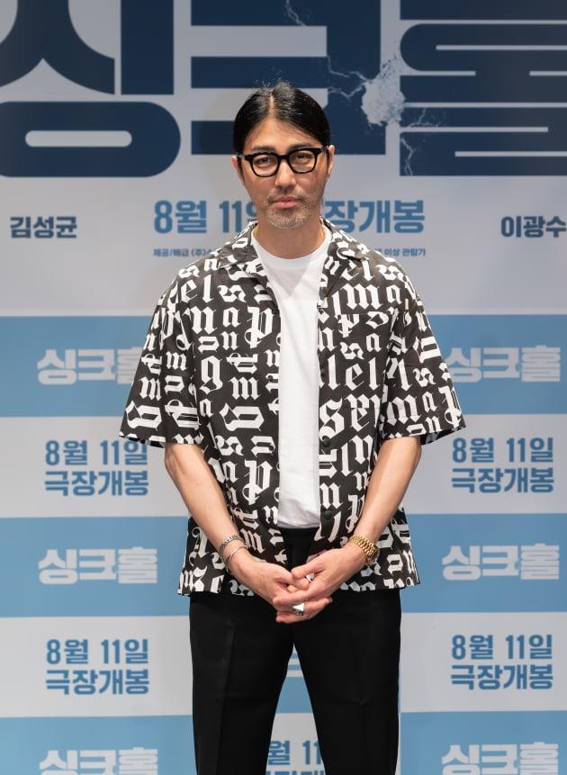 '싱크홀' 차승원./ 사진제공=쇼박스