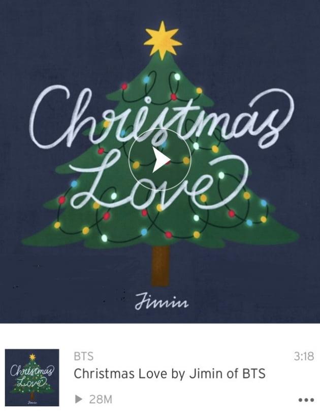 방탄소년단 지민, 자작곡 '약속' 사운드클라우드 2억8000만 신기록
