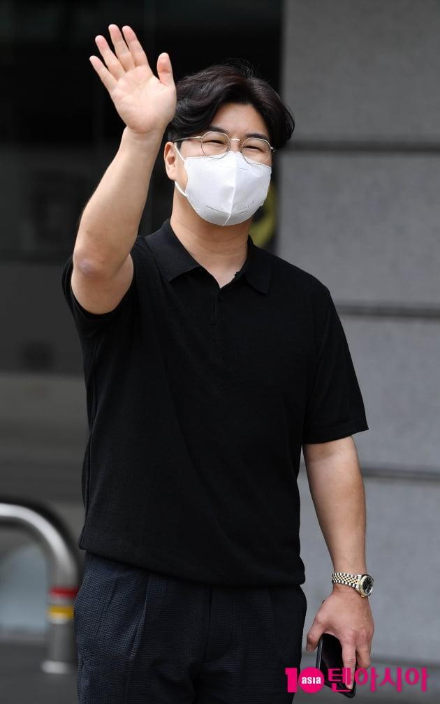 [TEN 포토] 박구윤 '녹화 잘하고 올께요~'