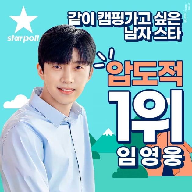 임영웅, K팝 아이돌 모두 제친 인기…함께 캠핑가고 싶은 스타 1위