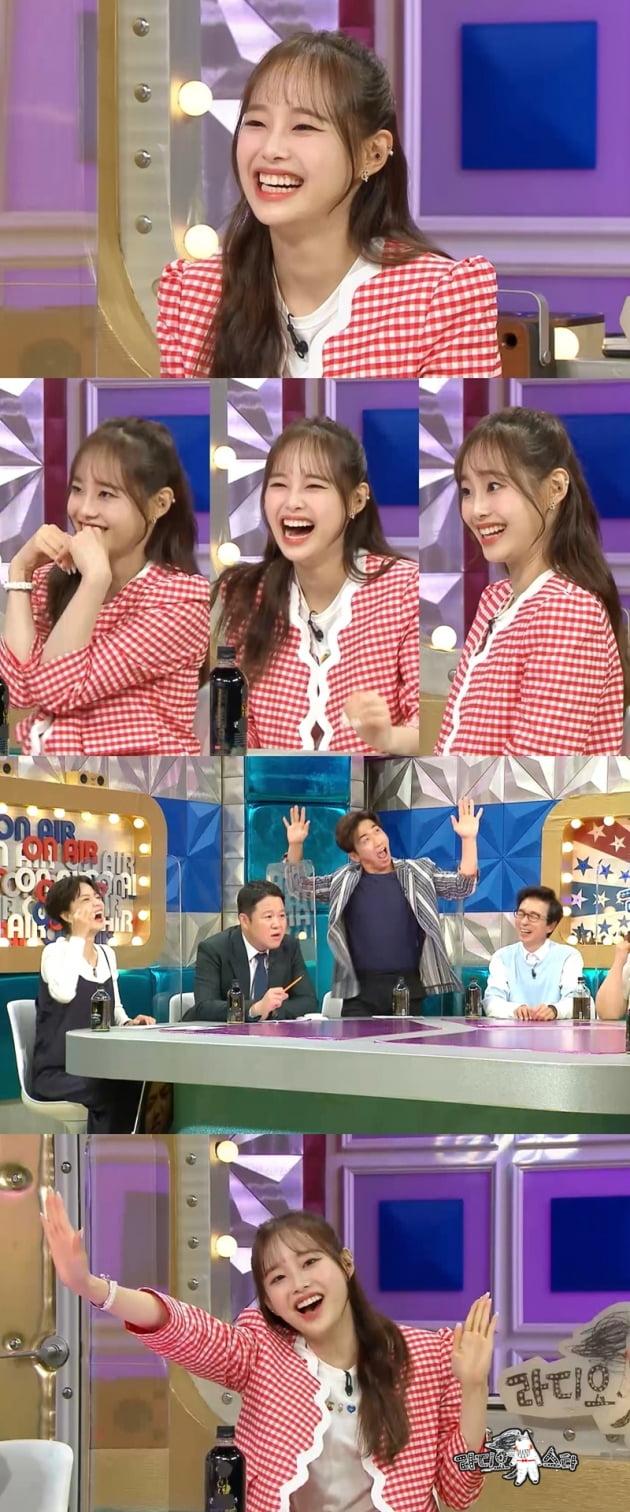 """'이달의 소녀' 츄 """"하트 강박증 생겼다"""" /사진=MBC"""