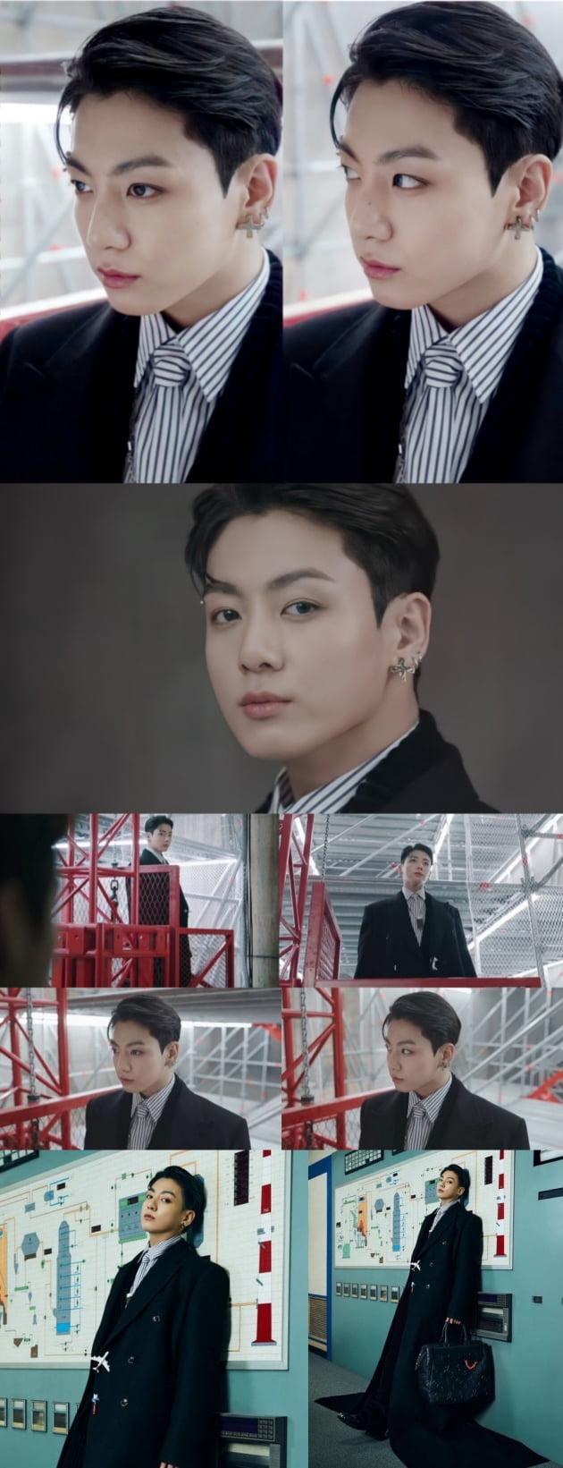 방탄소년단 정국 '차도남'의 톱 모델 포스...72개 국가 실트 '폭발적 인기'