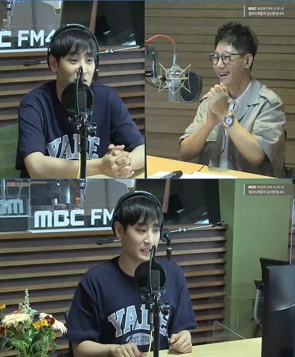 '정희' 박재정, 지석진./ 사진=보이는 라디오 캡처