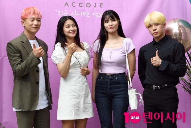 [TEN 포토] K타이거즈 '태권아이돌의 화려한 외출'