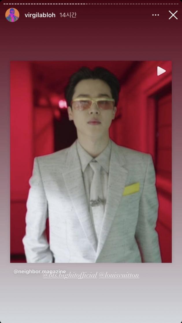 방탄소년단 지민, 루이비통쇼의 '하이라이트'…외신 폭발적 반응