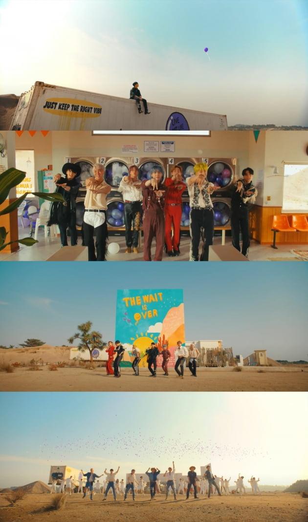 희망·평화 품은 방탄소년단, 'Permission to Dance' 글로벌 강타할 준비 완료