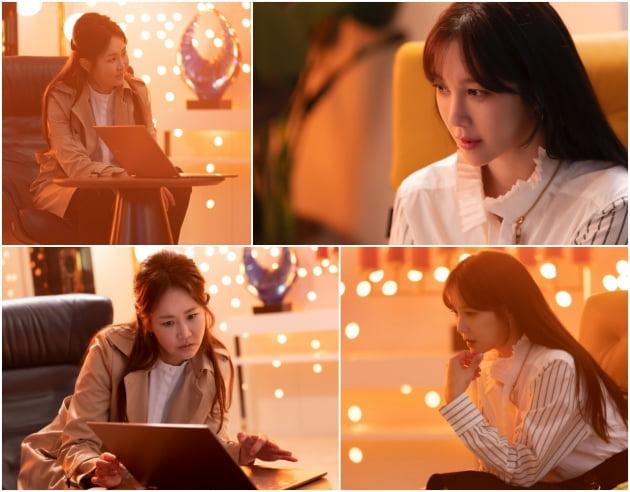'펜트하우스3' 이지아, 신은경/ 사진=SBS 제공