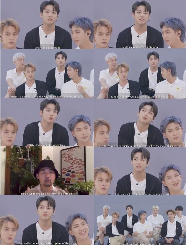 """방탄소년단 정국 """"노래도 랩하는 것 처럼 해보고 파, 평생 노래하고 싶어"""""""