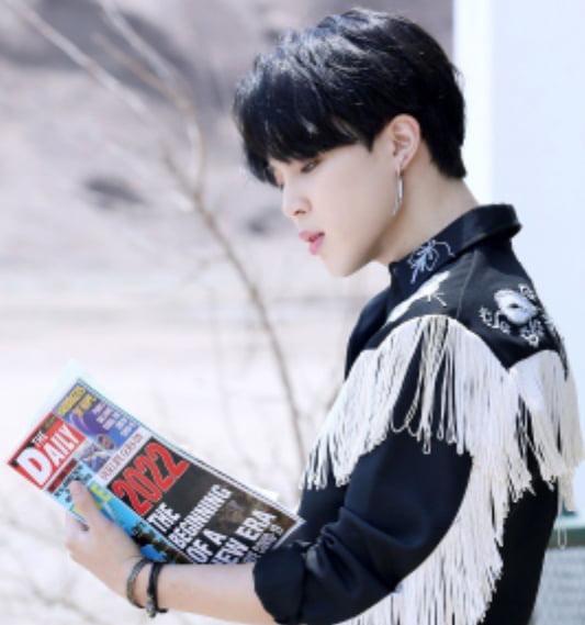 방탄소년단 지민 'Permission to Dance' 뮤비 스케치 서부영화 주인공도 완벽 소화