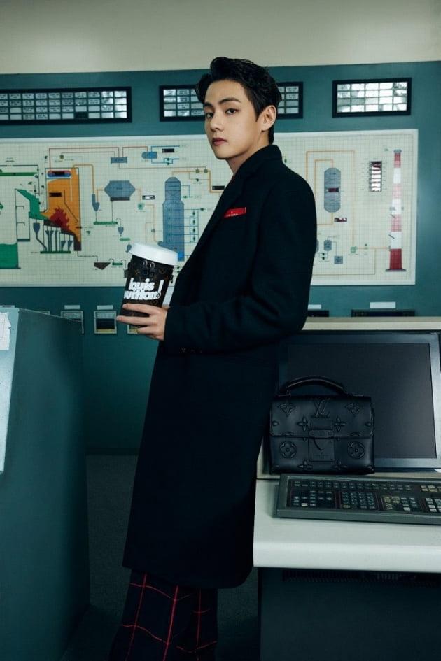 '루이비통의 남자' 방탄소년단 뷔,  '버질 아블로'  단독 사진 주인공