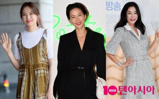 배우 조윤희, 방송인 김나영, 이혜영./사진=텐아시아DB