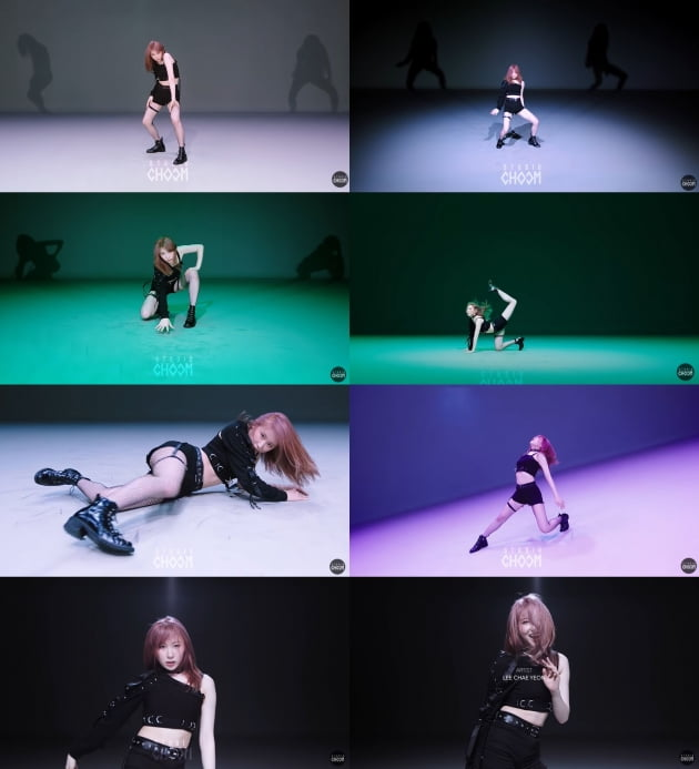 [TEN이슈] 아이즈원 이채연, 주특기 댄스로 '스트릿 우먼 파이터' 참전