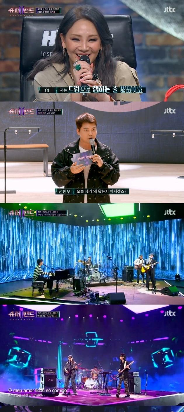 """""""클래스 달라""""…'슈퍼밴드2' 윤종신→유희열, 역대급 무대에 릴레이 극찬"""