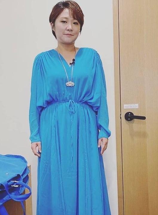 '싱글맘' 김현숙, 11kg 감량하고 가녀린 자태 [TEN★]