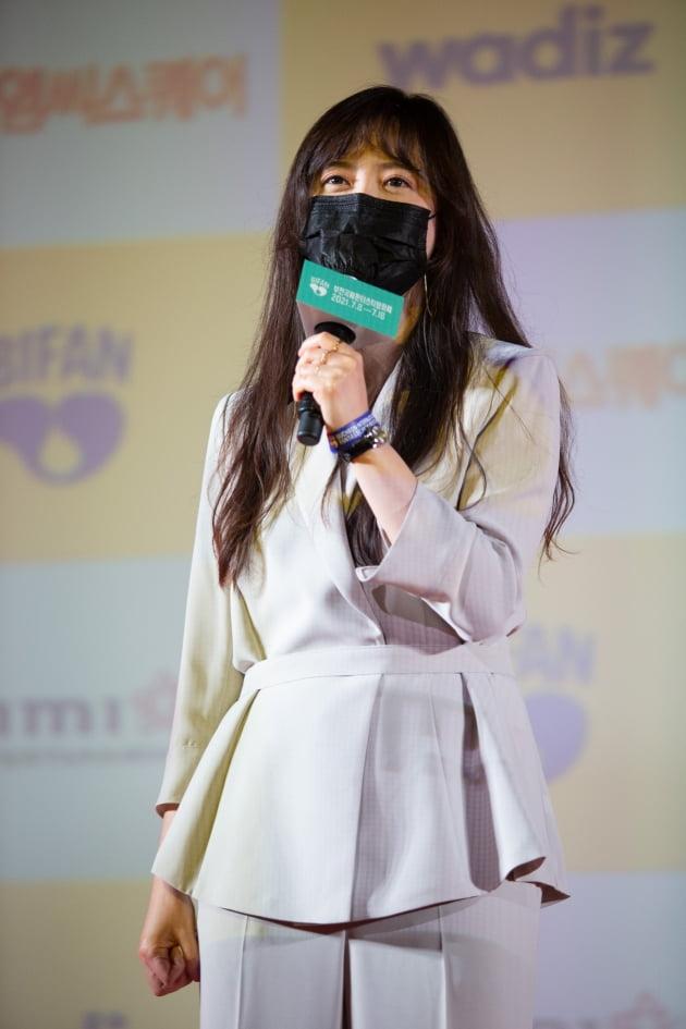 부천국제판타스틱영화제에 참석한 감독 겸 배우 구혜선. / 사진제공=부천국제판타스틱영화제