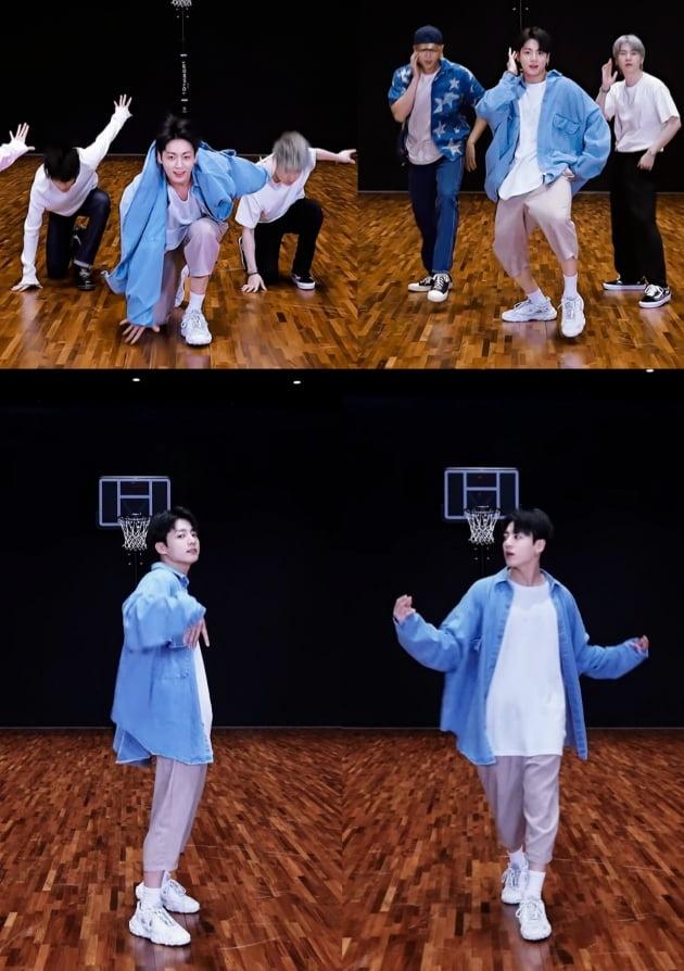 방탄소년단 정국, 박자 쪼개는 '댄스 스킬, PTD 춤 실력 뽐내