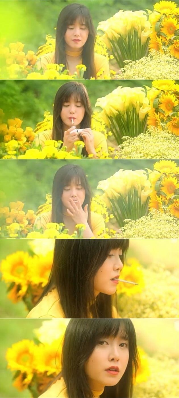 영화 '다크 옐로우'의 한 장면 / 사진=구혜선 인스타그램