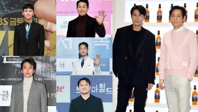 영화 '헌트' 출연 배우들./ 사진=텐아시아DB
