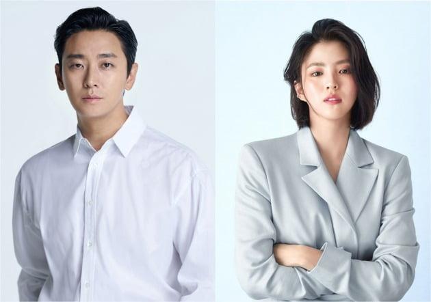 영화 '젠틀맨'에 캐스팅된 배우 주지훈(왼쪽), 한소희 / 사진제공=웨이브