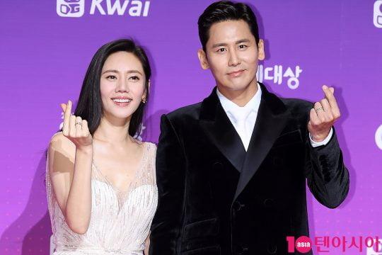 배우 추자현(왼쪽), 우효광 부부. /텐아시아DB