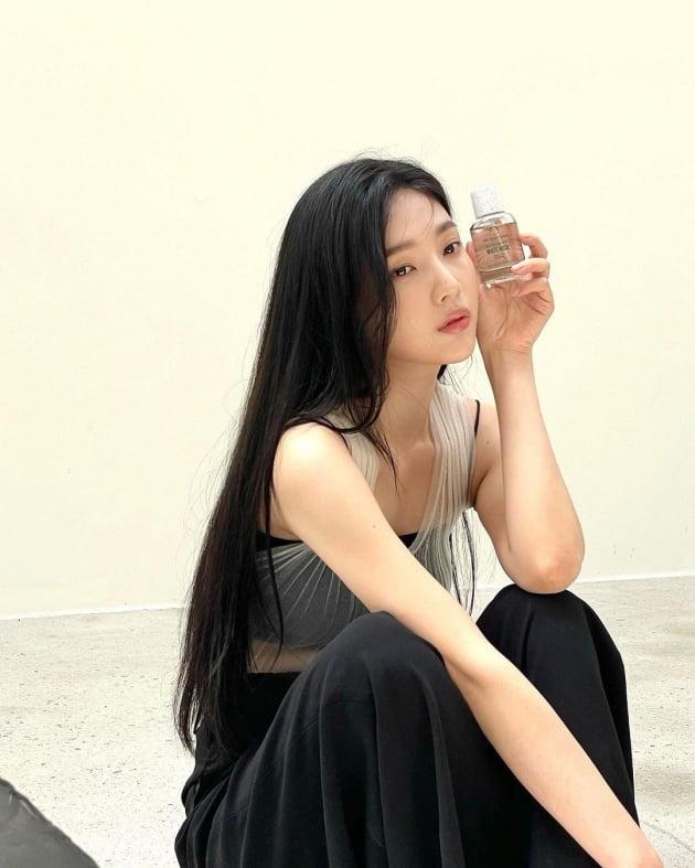 레드벨벳 조이, 전체 시스루 민소매로 속시원한 패션 [TEN★]