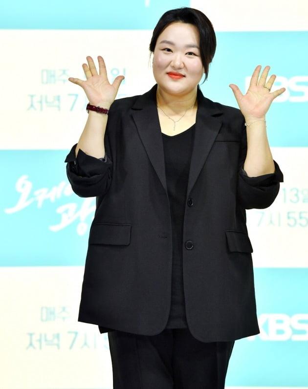 '오케이광자매' 제작발표회 참석한 배우 하재숙/ 사진=KBS2 제공