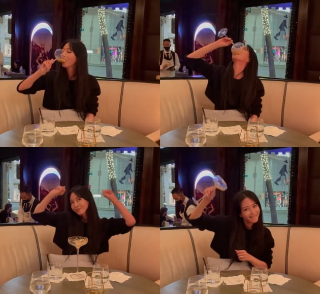 배우 한예슬/사진 = 한예슬 인스타그램