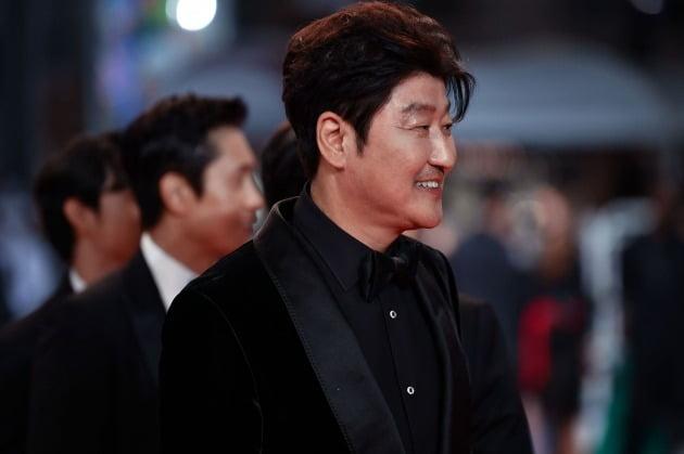 제74회 칸영화제에 참석한 배우 송강호. / 사진제공=쇼박스