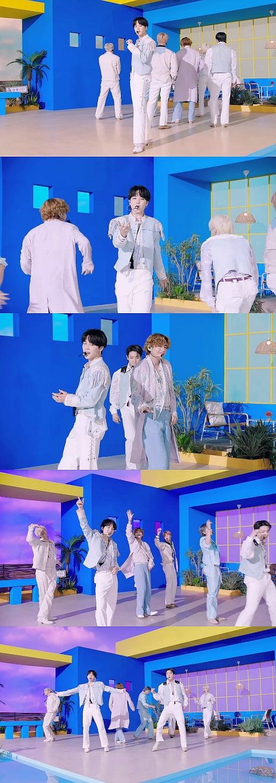 방탄소년단 지민, '퍼미션 투 댄스' 日감은 사랑과 행복의 'Jimin Effect'