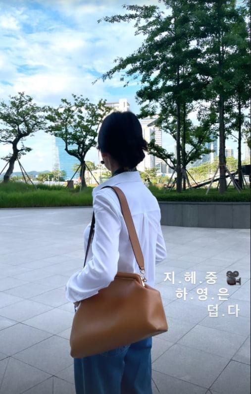 송혜교, 역시 프로는 남달라...폭염에 긴팔+긴바지  지금은 드라마 촬영중 [TEN★]