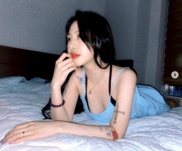 제이미, 오늘은 섹시하게~...박지민 맞어? [TEN★]