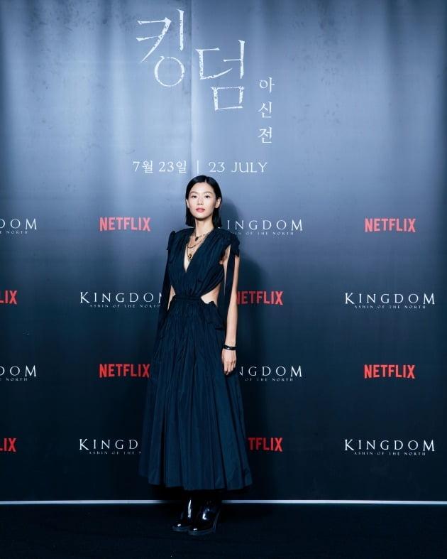 '킹덤 아신전' 전지현./사진제공=넷플릭스
