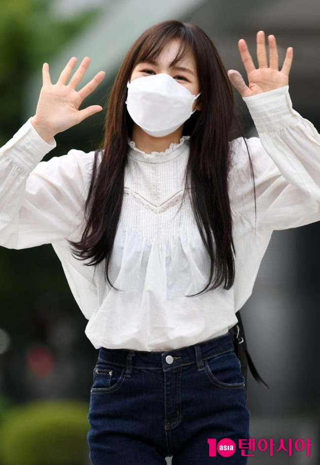 [TEN 포토+] 레드벨벳 웬디, 빠져드는 예쁨...인형이 따로 없네