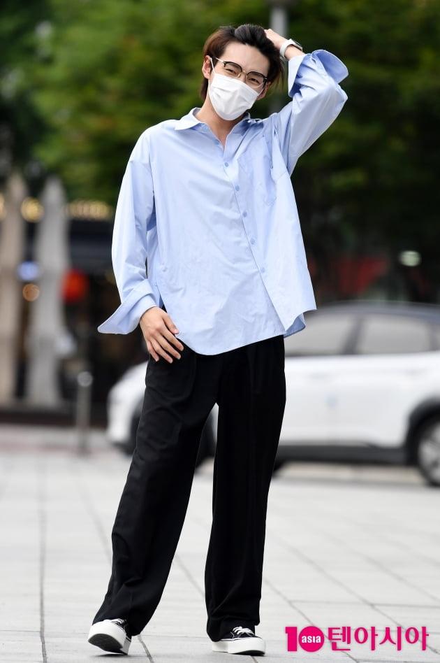[TEN 포토] SF9 주호 '머리만 넘겨도 화보'