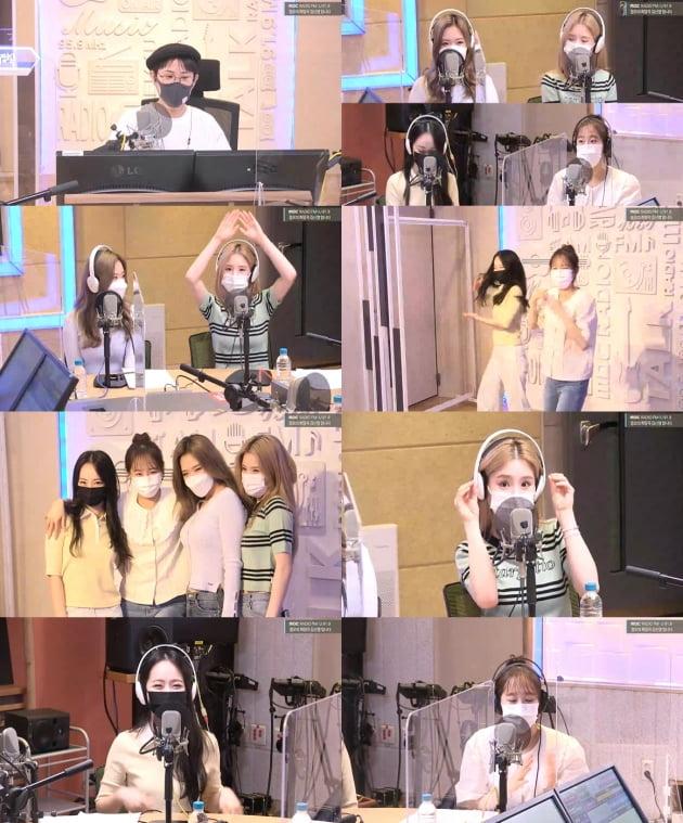 이달의 소녀./ 사진=MBC '정희' 보이는 라디오