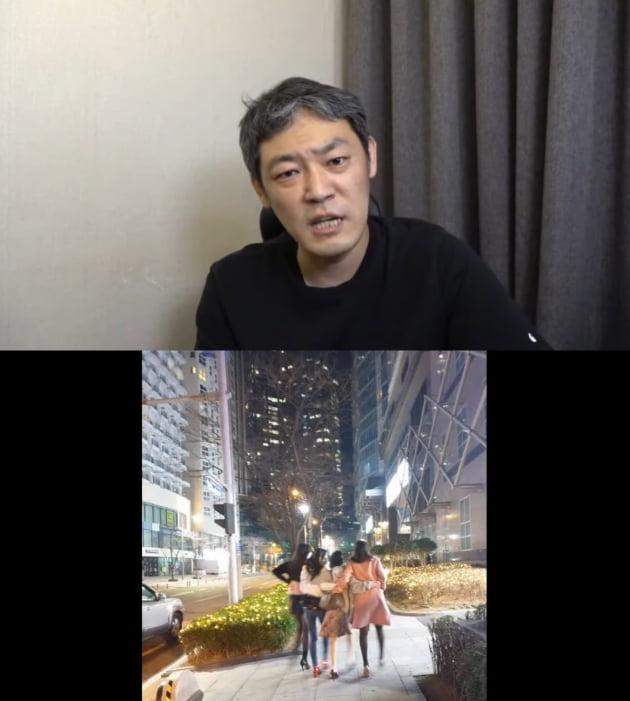/사진=유튜브 채널 '김용호연예부장'
