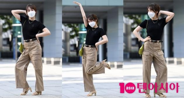 [TEN 포토] 레드벨벳 웬디, 이쁜포즈 3단 콤보...아이 부끄러워라