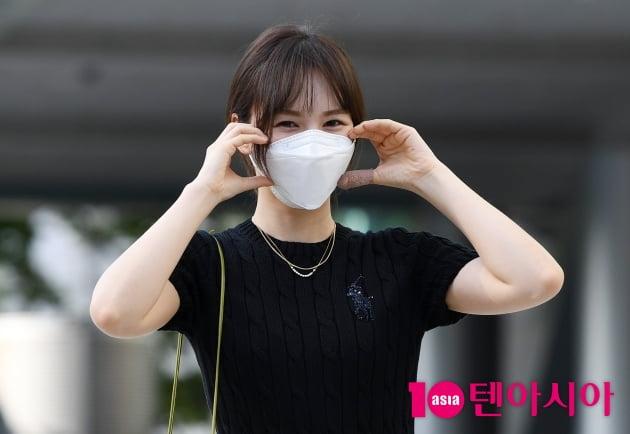 [TEN 포토] 레드벨벳 웬디 '남심저격 볼하트 뿅뿅'