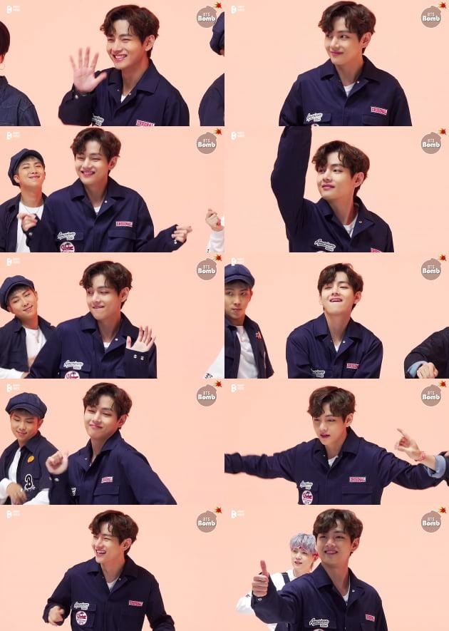 """""""아미는 내 친한 친구"""" 방탄소년단 뷔, '퍼투댄 프로젝트'서 보여준 '아미 바라기'"""