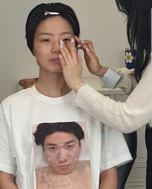 안영미, 막 입기 좋은 티셔츠...오빠 냄새나는거 같아[TEN★]