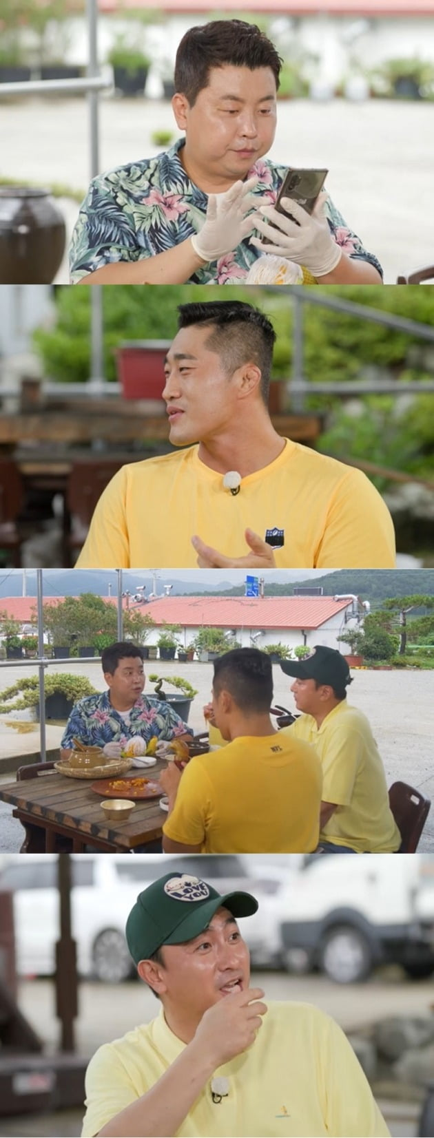 '랜선장터' 정호영 안정환 김동현/ 사진=KBS2 제공