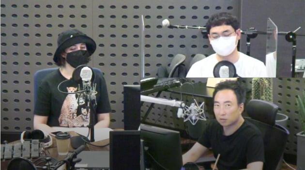 사진=KBS쿨FM '박명수의 라디오쇼' 보이는 라디오 캡처