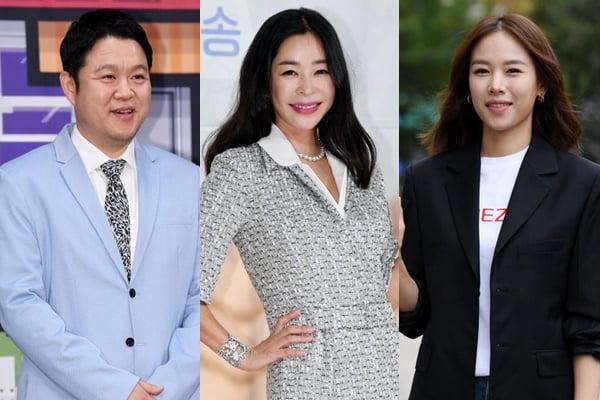 김구라(왼쪽부터) 이혜영, 조윤희/ 사진=텐아시아DB