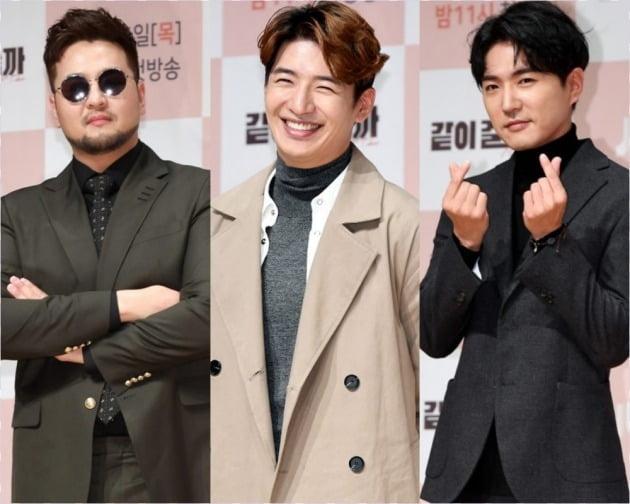 god 김태우(왼쪽), 손호영, 데니안./사진=텐아시아DB