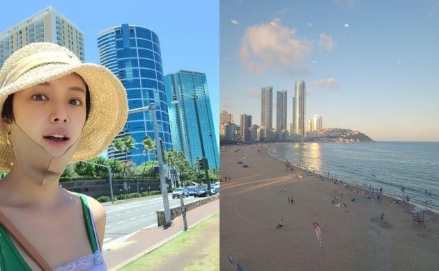 '♥이영돈 재결합' 황정음, 하와이 찍고 부산 여행중...아, 예뻐[TEN★]