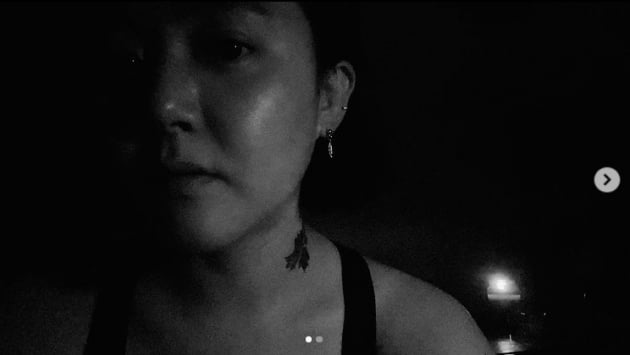 문근영, 국민 원조 여동생의 반전...심심할때 타투놀이중[TEN★]