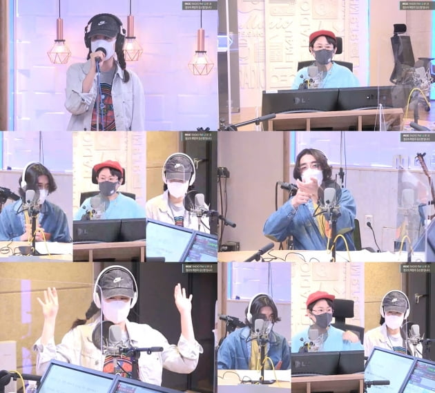 '정오의 희망곡' 선우정아-잔나비 최정훈./ 사진=보이는 라디오